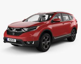 Honda CR-V Touring with HQ interior 2017 3D model