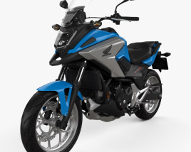 3D model of Honda NC750X 2016