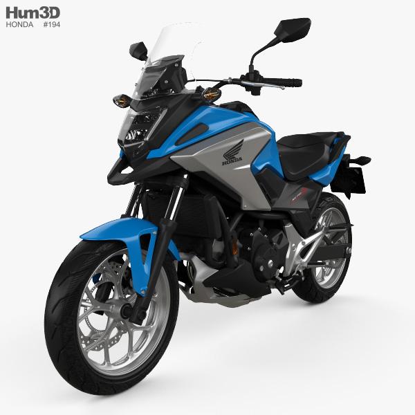 Honda NC750X 2016 Modelo 3d