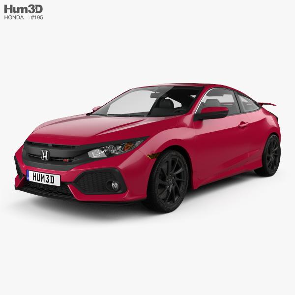 Honda Civic Si coupe 2016 3D model