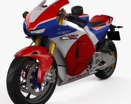 3D model of Honda RC213V-S Prototype 2015