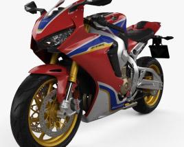 3D model of Honda CBR1000RR 2017
