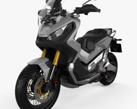 3D model of Honda X-ADV 2017