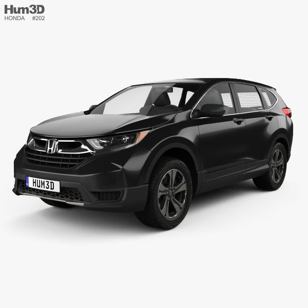 Honda CR-V LX 2017 3D model