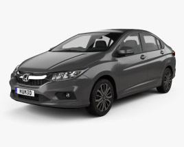 3D model of Honda City 2017