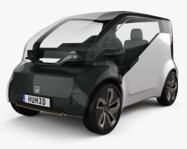 3D model of Honda NeuV 2017