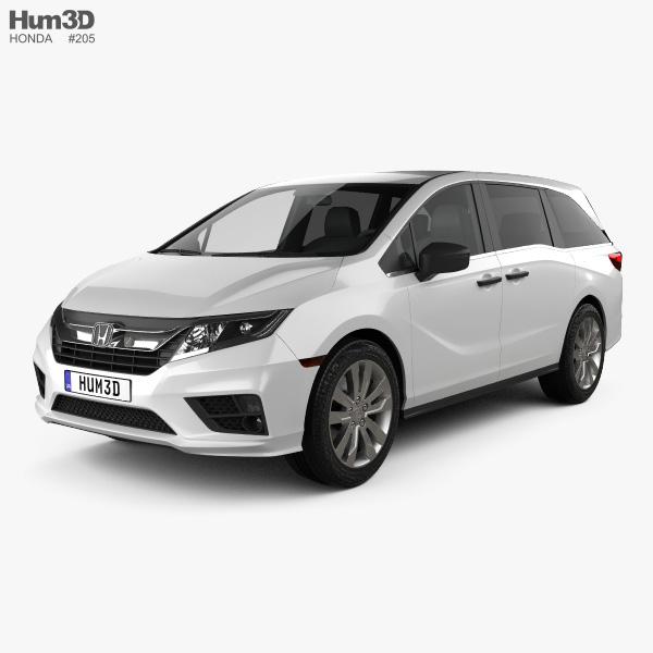 Honda Odyssey LX 2018 3D model