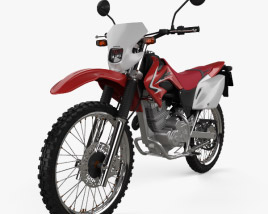 3D model of Honda XR230 2011