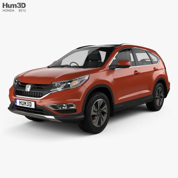 Honda CR-V (RM) UK-spec 2017 3D model