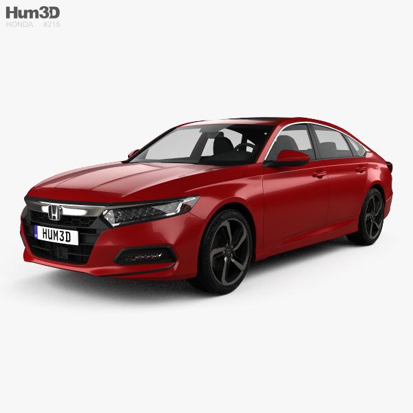 Honda Accord Sport US-spec sedan 2018 3D model