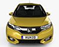 Honda Fit Hybrid Cross Style JP-spec 2017 3d model