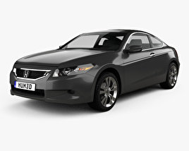 Honda Accord (CS) EX-L coupe 2008 3D model
