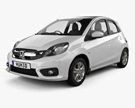 Honda Brio hatchback 2016 3D model