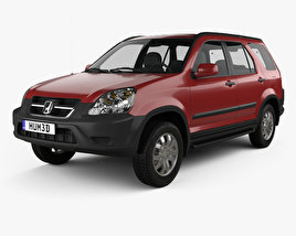3D model of Honda CR-V EX 2003