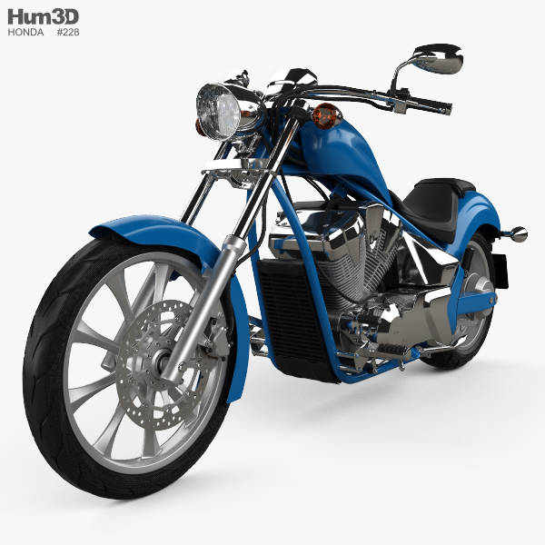 Honda Fury 2017 3D model