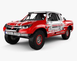 3D model of Honda Ridgeline Baja Race Truck 2016
