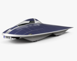 3D model of Honda Dream Solar Car 1996