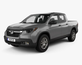 3D model of Honda Ridgeline RT 2017