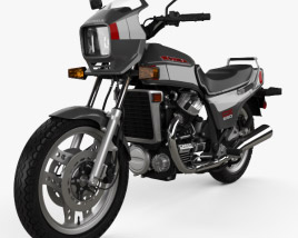 3D model of Honda CX650E 1983