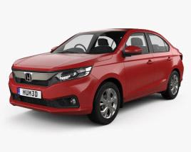 3D model of Honda Amaze 2018
