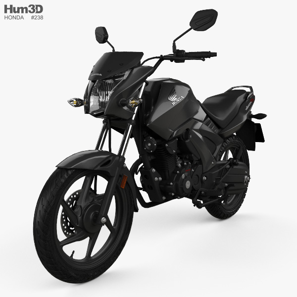 Honda Unicorn 160 2017 3D model