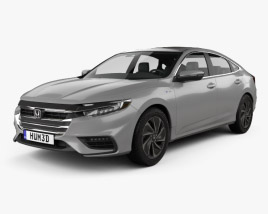 3D model of Honda Insight Touring 2018