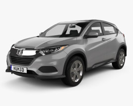 3D model of Honda HR-V LX 2018