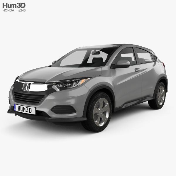 3D model of Honda HR-V LX 2018