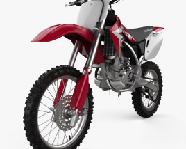 3D model of Honda CRF150R 2018