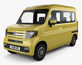 3D model of Honda N-Van Style Fun 2018