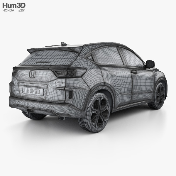 Honda XR-V with HQ interior 2015 3D model - Vehicles on Hum3D