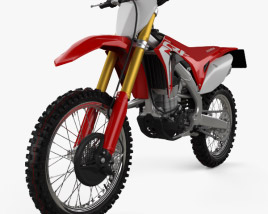 3D model of Honda CRF450R 2018