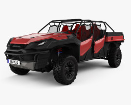 3D model of Honda Rugged Open Air Vehicle 2018