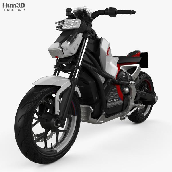 Honda Riding Assist-e 2017 3D model