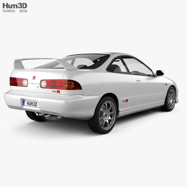Honda Integra Type-R coupe 1995 3D model