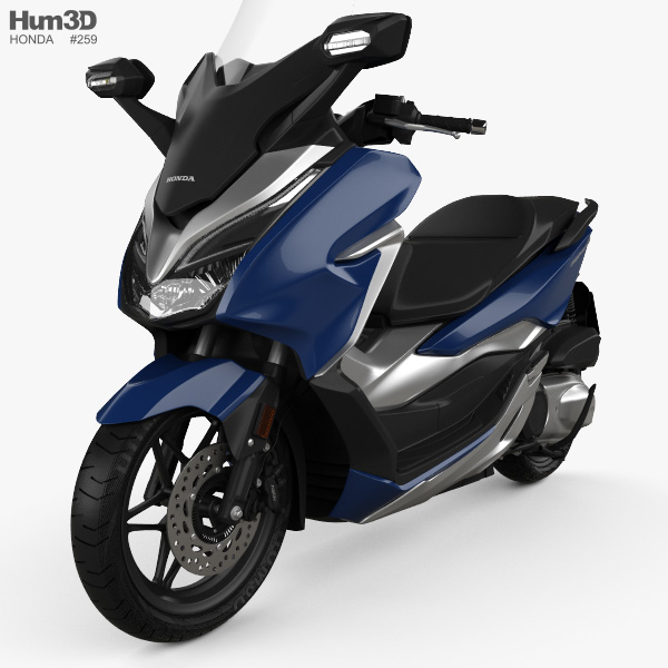 Honda Forza 300 2018 3D model