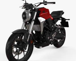 3D model of Honda CB300R 2018