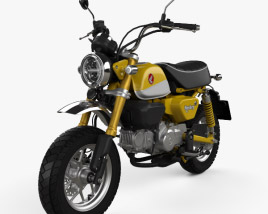 3D model of Honda Monkey 125 2019