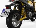 Honda Monkey 125 2019 3d model