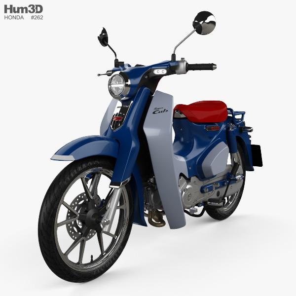 Honda Super Cub C125 2019 3D model