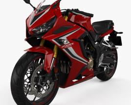 3D model of Honda CBR650R 2019