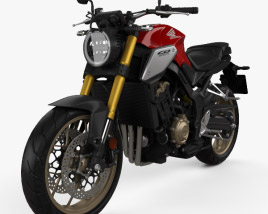 3D model of Honda CB650R 2019
