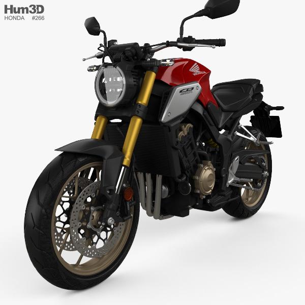 Honda CB650R 2019 3D model