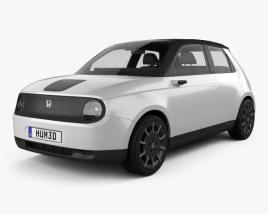 3D model of Honda e 2019