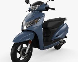 3D model of Honda Activa 125 2019
