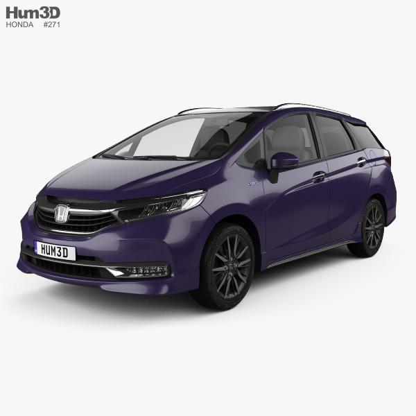 Honda Shuttle hybrid 2019 3D model