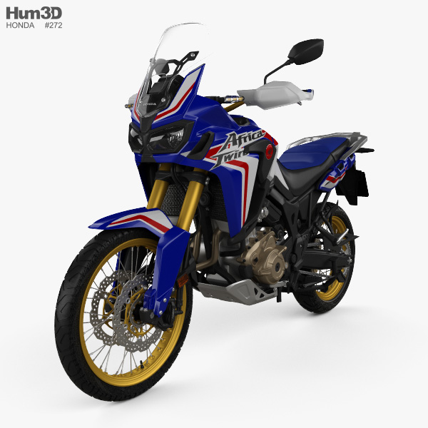 Honda CRF1000L Africa Twin ABS 2019 3D model