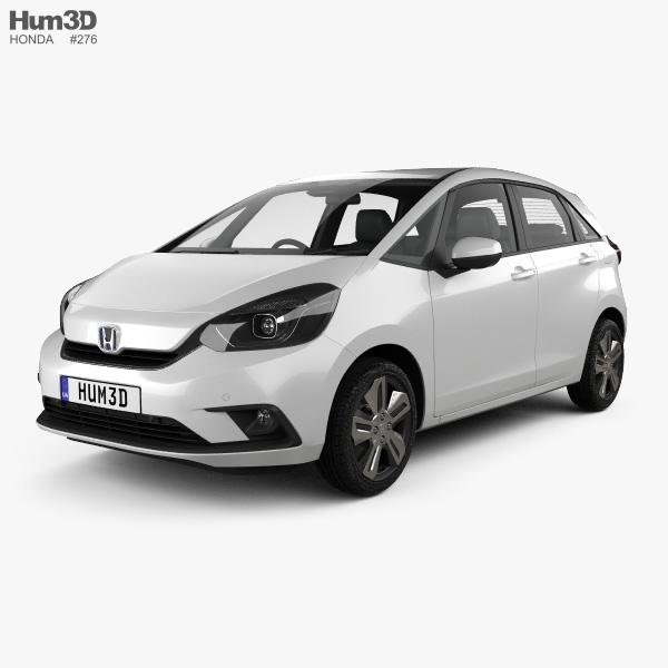 Honda Jazz e:HEV 2020 3D model
