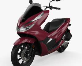 3D model of Honda PCX 150 2019