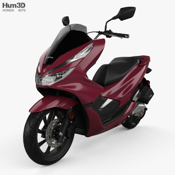 Honda PCX 150 2019 3D model